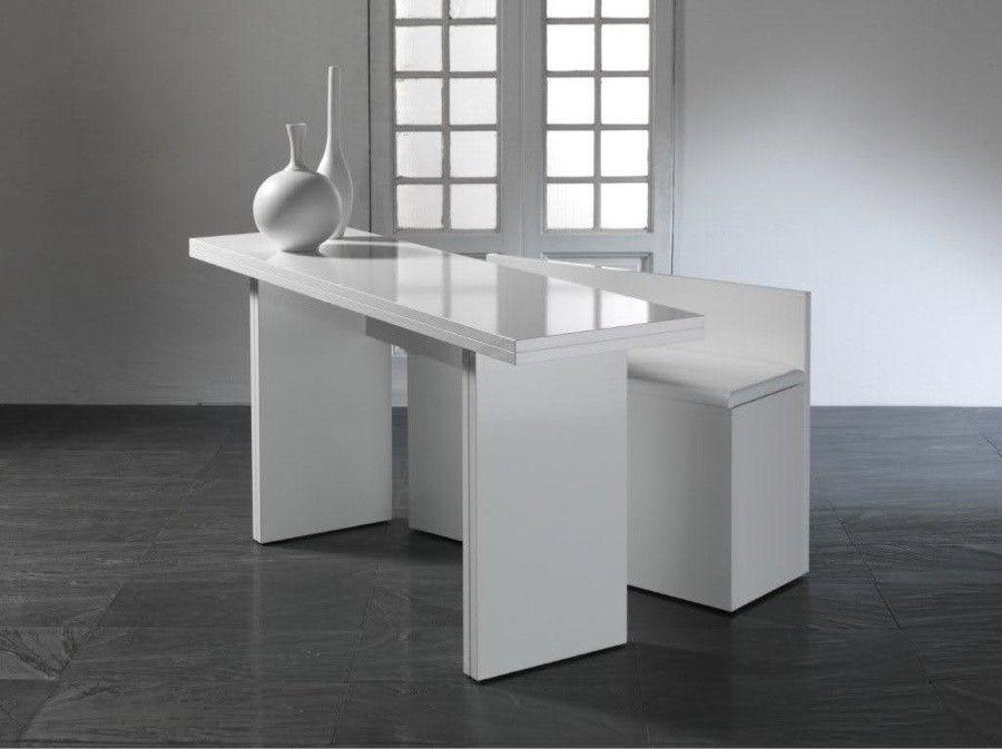 Tavolo Moderno Consolle.Tavolo Consolle Allungabile Moderno Donniedarko